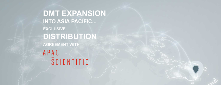 Exclusive distribution of DMT systems in Asia Pacific